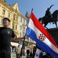 U Zagrebu na prodaju maske za natpisom Za dom spremni: Vlasnik prodavnice ne vidi ništa sporno