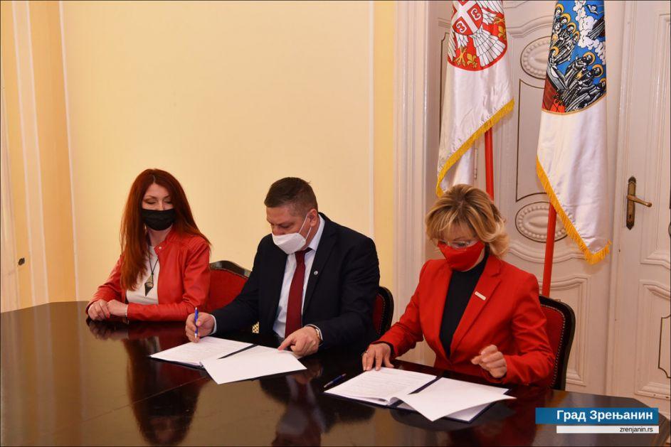 U Zrenjaninu potpisan Sporazum saradnji između Grada i Crvenog krsta