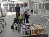 U akciji Čepening niškoj Klinici za ortopediju donirana četiri pomagala