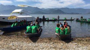 U akciji čišćenja Skadarskog jezera sakupljeno 250 džakova otpada