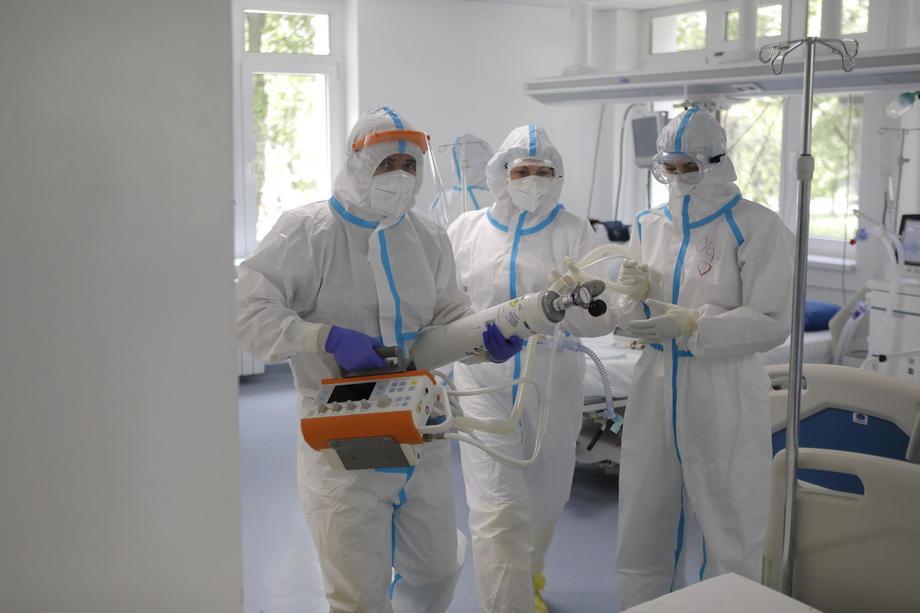 U bolnicama Zlatiborskog okruga 307 obolelih od kovida