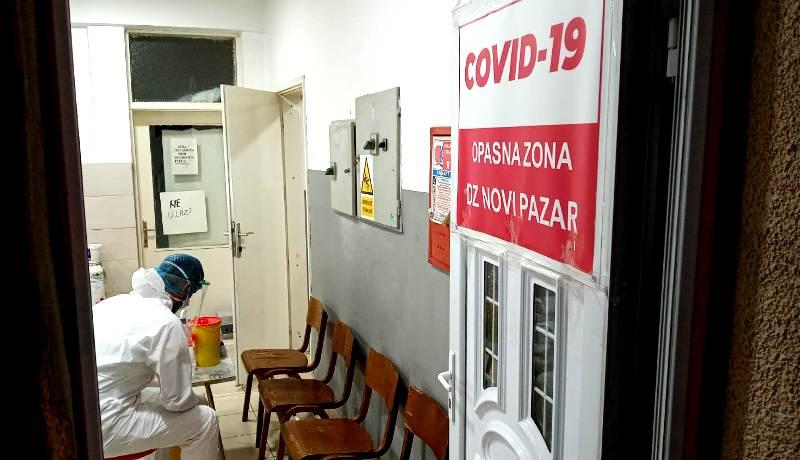U bolnici osam covid pacijenata, jedan trasportovan za Niš, dvoje na kiseoniku