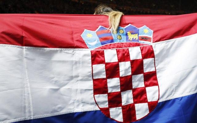 U centru Zagreba natpis Ubij Srbina