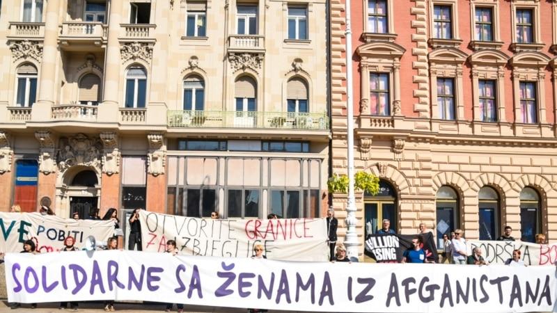 U devet hrvatskih gradova solidarnost sa ženama Afganistana
