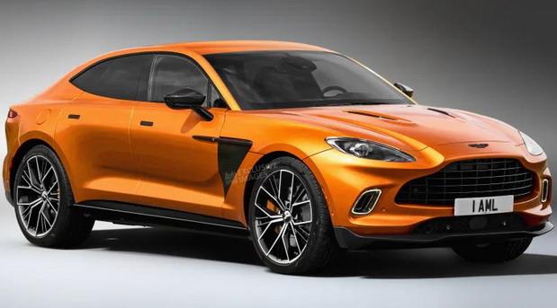 U planu i Aston Martin DBX Coupe