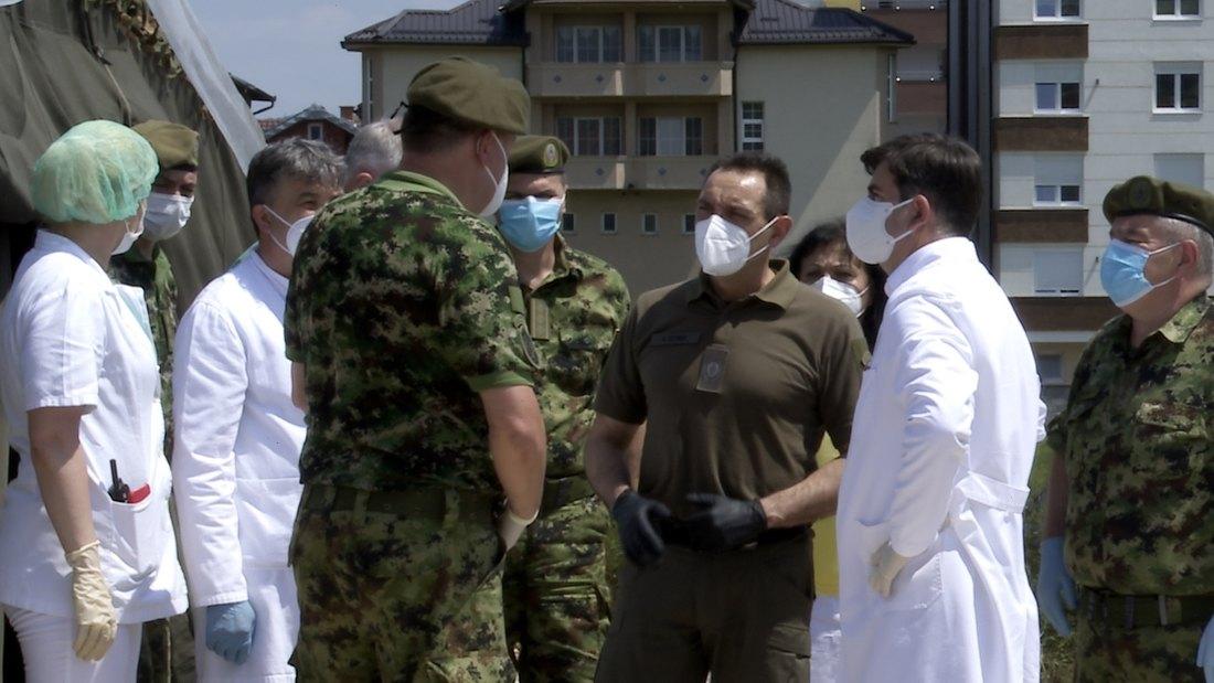U poljskoj vojnoj bolnici u Novom Pazaru 45 kovid pacijenata