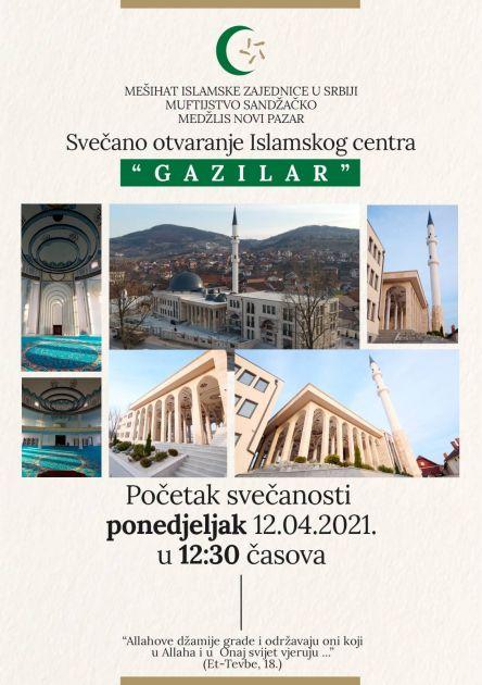 U ponedjeljak u 12:30: Otvaranje Islamskog centra na Gazilaru