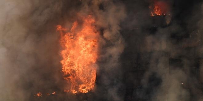 U požaru na Novom naselju potpuno izgoreo stan