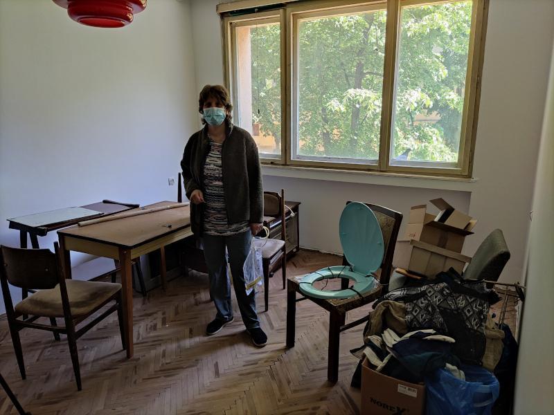 U požaru ostali bez doma, sada brinu da se ne zaraze jer im je dodeljen zapušten i neuslovan stan