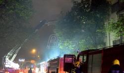 U požaru u Nišu izgorela dva stana, nema stradalih i povredjenih