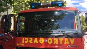 U požaru u Nišu lakše povređena jedna žena