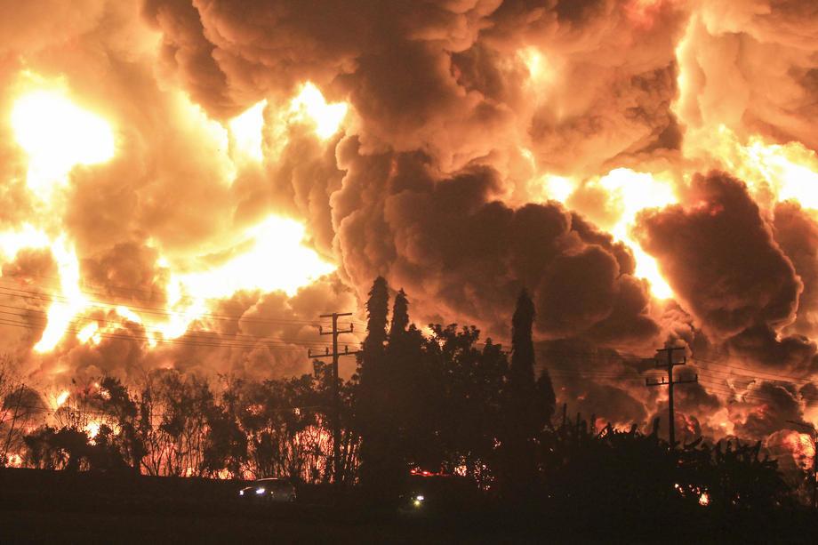 U požaru u kovid bolnici u Iraku poginulo deset osoba