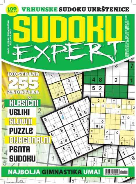 """U Prodaji Je Novi """"Sudoku Expert"""""""