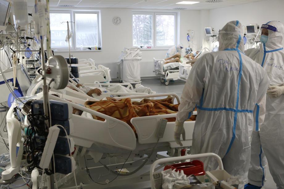 U prokupačkoj bolnici 50 pacijenata, 32 na kiseoniku