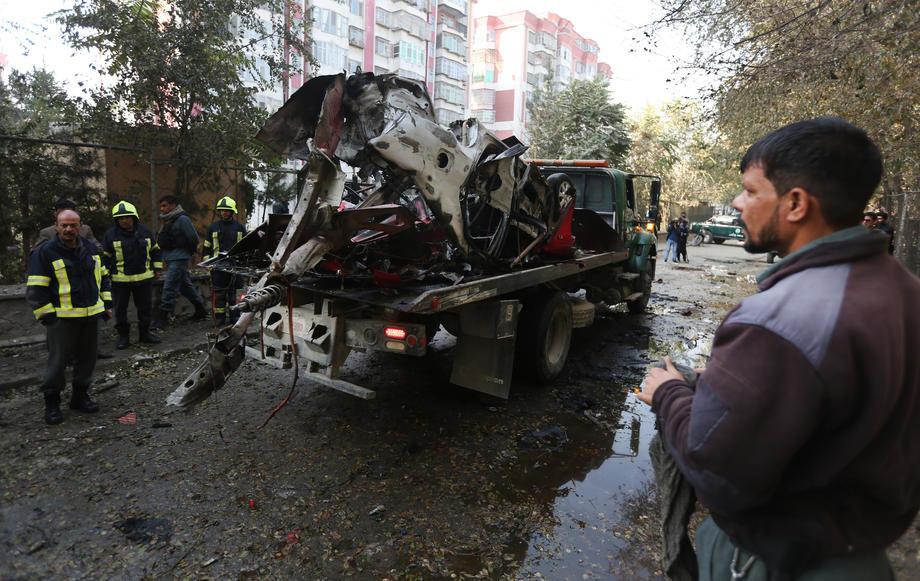 U sudaru kamiona 14 mrtvih u Avganistanu
