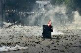 U sukobima s demonstrantima poginuo policajac u Libanu