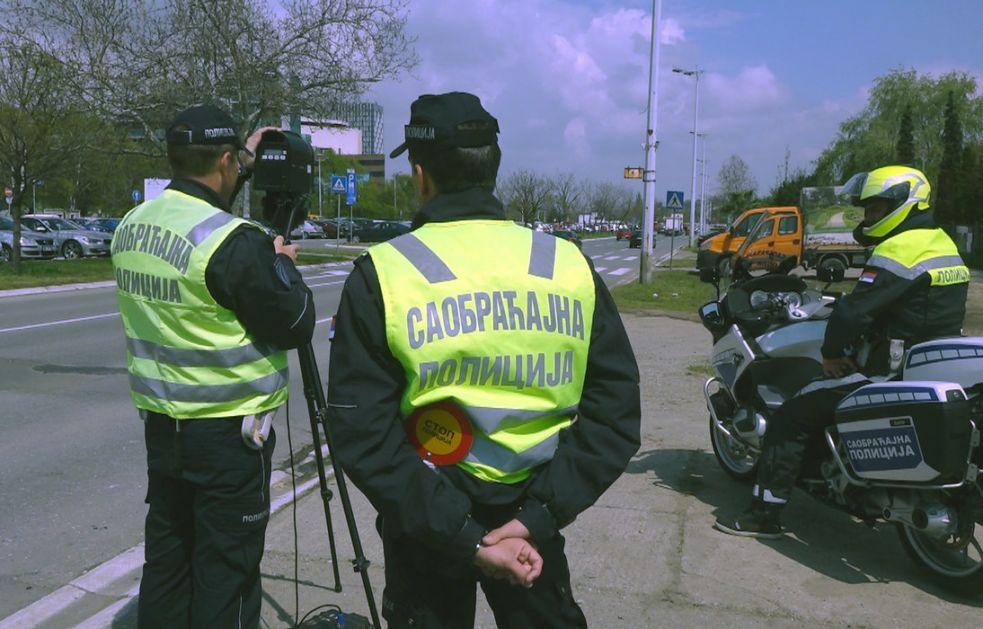 U toku akcija Spid Maraton - pojačana kontrola brzine