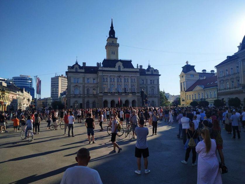 Sprečena blokada auto-puta, demonstranti se vratili u Novi Sad