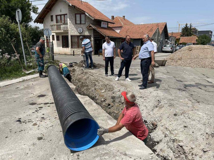 U toku rekonstrukcija Pešterske ulice u Sjenici