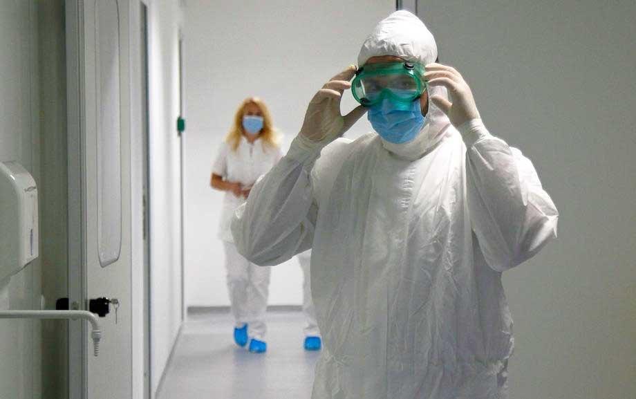 U užičkoj bolnici 104 pacijenta, jedan na respiratoru