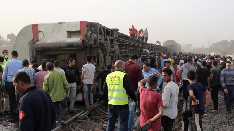 U železničkoj nesreći u Egiptu povređeno skoro 100 ljudi