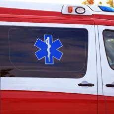 UDES NA BRANKOVOM MOSTU: Povređena mlađa žena
