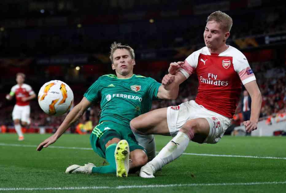 UEFA REAGOVALA ZBOG SITUACIJE U UKRAJINI: Promenjeno mesto odigravanja utakmice Vorskla - Arsenal