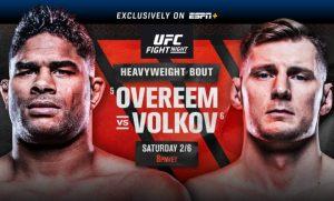 UFC POVUKAO HRABAR POTEZ: Otkaz Alisteru Overimu!