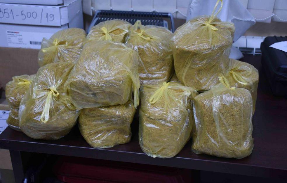 UHAPŠEN KRUŠEVLJANIN (40): Pao sa pola tone duvana u zapakovanim vrećama
