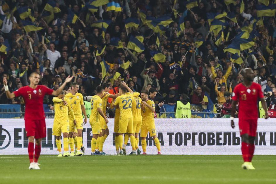 UKRAJINCI, HVALA: Ševčenkov tim srušio šampiona Evrope! Portugalci pali u Kijevu i sad strepe od Srbije (VIDEO)