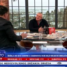 UNAKAZIĆU I TEBE I TITA Burno u programu uživo: Sarapa pustio Šešelju Titov snimak, usledila oštra reakcija (VIDEO)