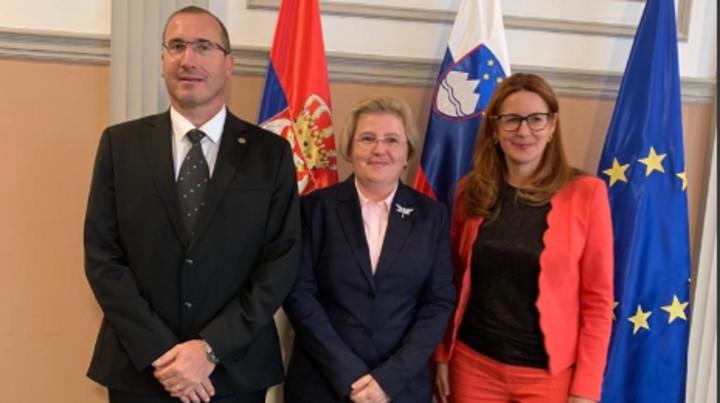 UNAPREĐENJE SARADNJE! Republički javni tužilac Zagorke Dolovac u Sloveniji