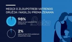 UNDP: Zloupotreba vatrenog oružja za nasilje prema ženama u Srbiji izvan fokusa medija