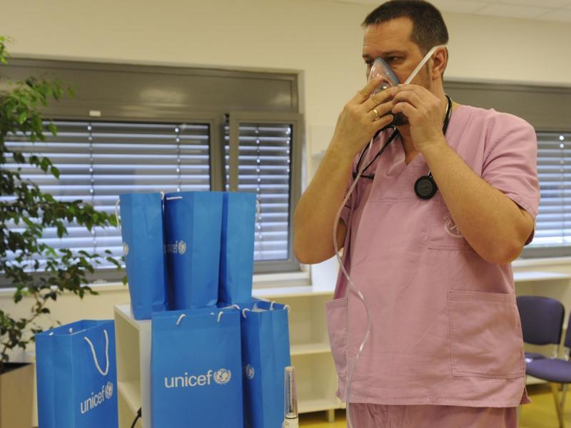 UNICEF donirao medicinsku opremu Nišu i Leskovcu