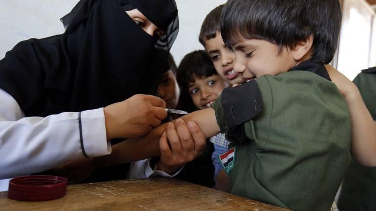 UNICEF omogućio vakcinaciju miliona djece u Jemenu