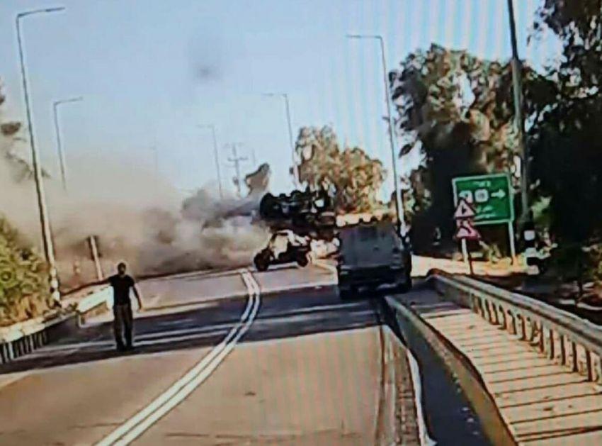 UNIŠTEN IZRAELSKI TENK MERKAVA?! Hamas napao vojni konvoj blizu Gaze! FOTO