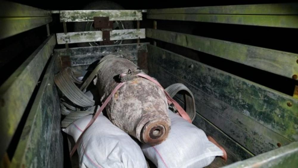 UNIŠTENA AVIONSKA BOMBA OD 238 KILA: Velika akcija kod Mostara (FOTO)