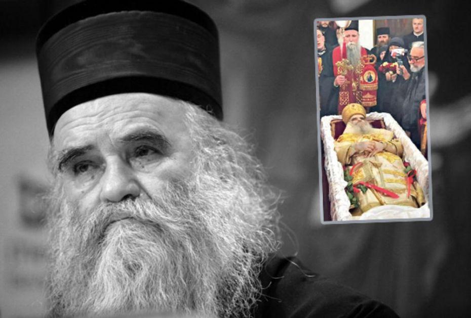 UPOKOJIO SE MITROPOLIT CRNOGORSKO-PRIMORSKI: Sada je u društvu Petra Cetinjskog, mi plačemo a nebo se raduje