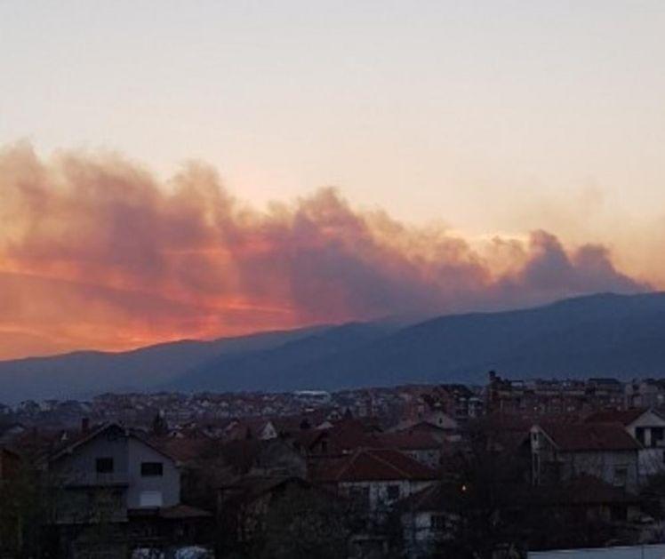UPOZORENJE GRAĐANIMA: U Pčinjskom okrugu požari na 15 lokacija