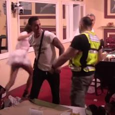 URNEBESNA SCENA! Tara upala u kazino, a obezbeđenje je juri: Otišla do Mateje zbog... (VIDEO)