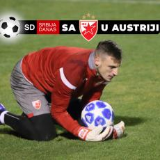 URNEBESNO: Pogledajte kako se golman Zvezde Popović vratio posle utakmice (VIDEO)