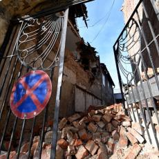URUŠIO SE DEO ZGRADE U ZAGREBU: Poznato da li ima povređenih građana