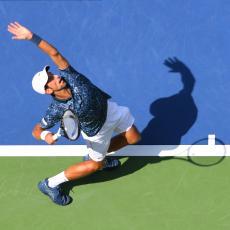 US OPEN: Tenis samo ZAPRETIO, Nole RUTINSKI do TRIJUMFA i Gaskea (FOTO)
