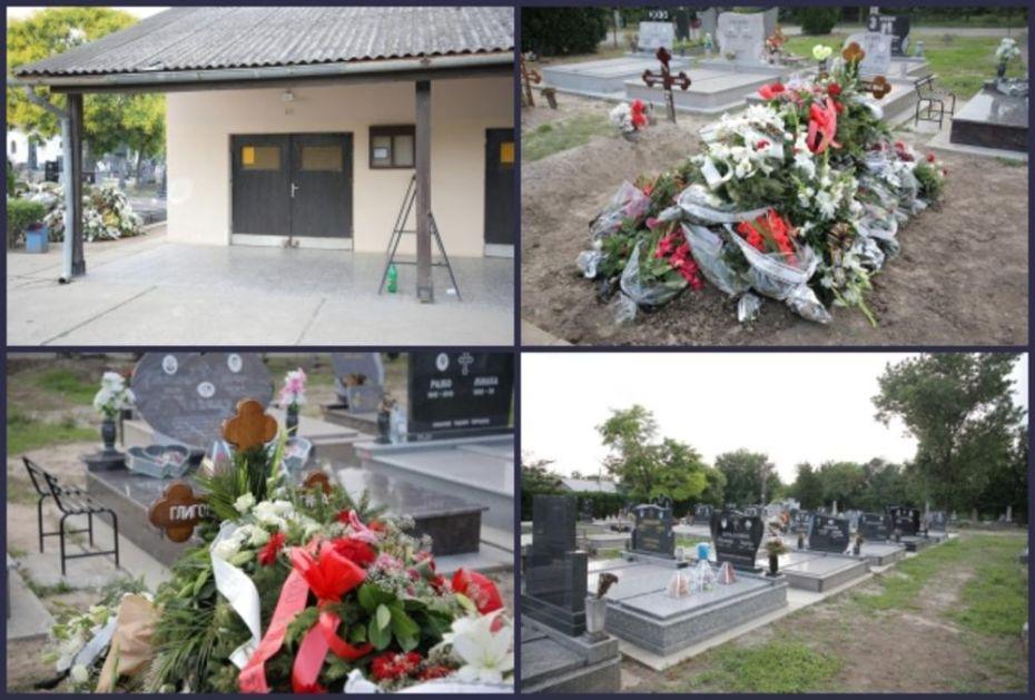 UŠLA U KAPELU DA UPALI SVEĆU I PALA OBLIVENA KRVLJU: Stravični detalji nezapamćene nesreće tokom sahrane u Bečeju! FOTO