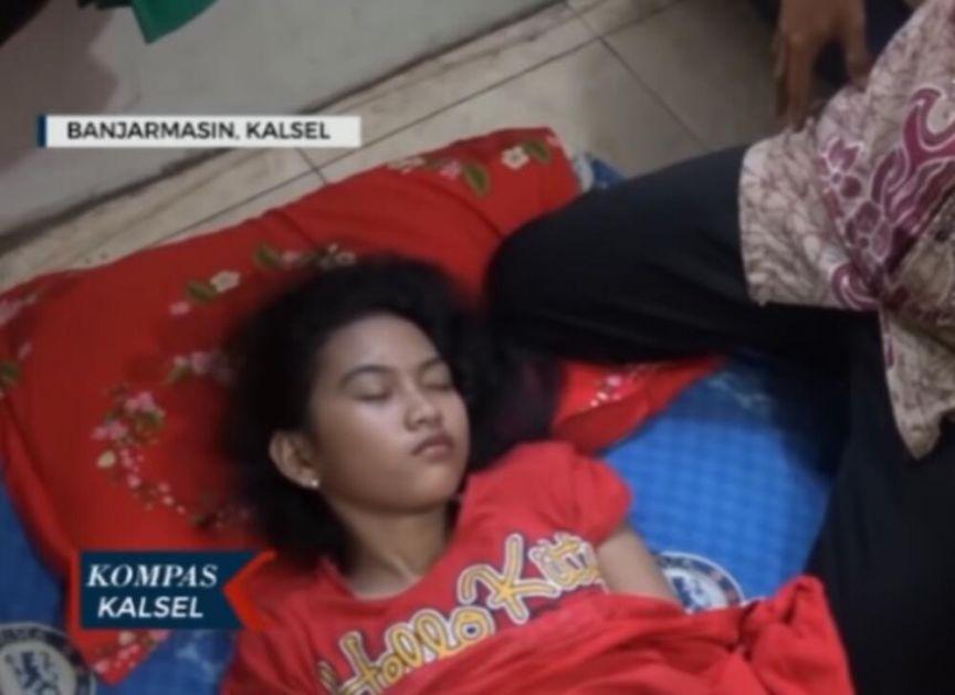 USPAVANA LEPOTICA U STVARNOM ŽIVOTU: Ova tinejdžerka iz Indonezije spava nedeljama bez buđenja! Krivac je KLS sindrom! VIDEO