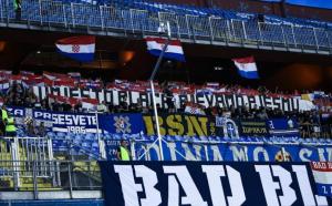 USTAŠKI SKANDAL U ZAGREBU: Hoće li UEFA isprazniti Maksimir pred potencijalni susret sa Zvezdom!? (FOTO)