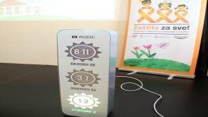 UV indikator postavljen u osnovnoj školi u Ivanjici
