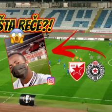 UVREDIO I GROBARE I DELIJE: Igrač Libereca objavio sliku sa stadiona - neverica šta je napisao! (FOTO)