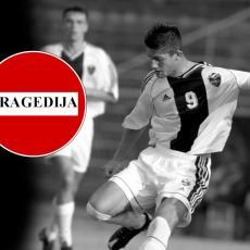 UŽASNA TRAGEDIJA: Nekadašnji fudbalski reprezentativac i igrač Partizana (38) izvršio SAMOUBISTVO