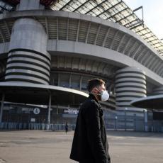 UZBUNA NA APENINIMA: Italijanski fudbaler ZARAŽEN Koronavirusom!